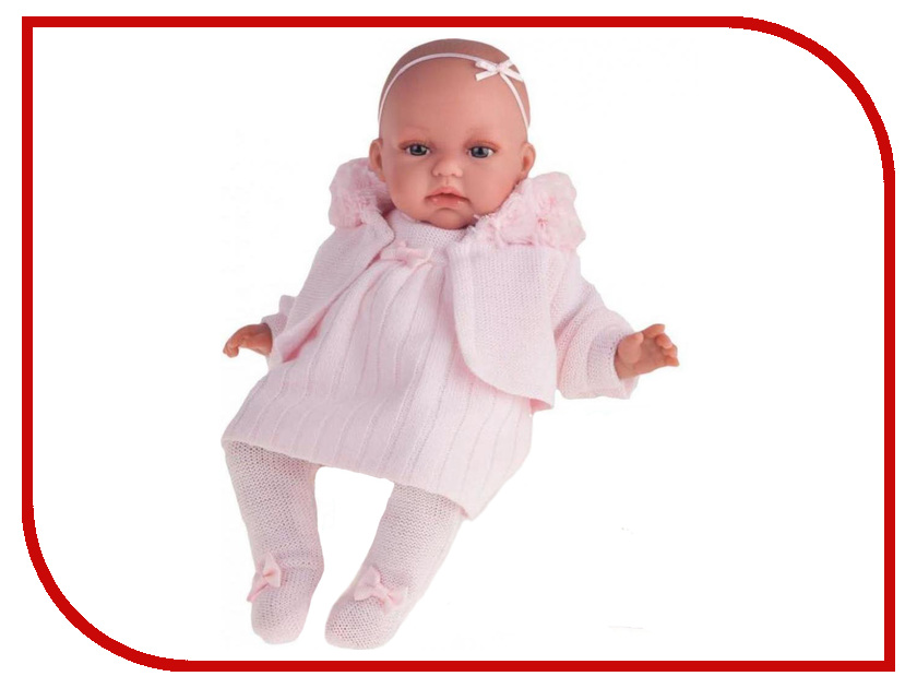 Кукла Antonio Juan Лория Pink 7033P odingeniy тумба лория