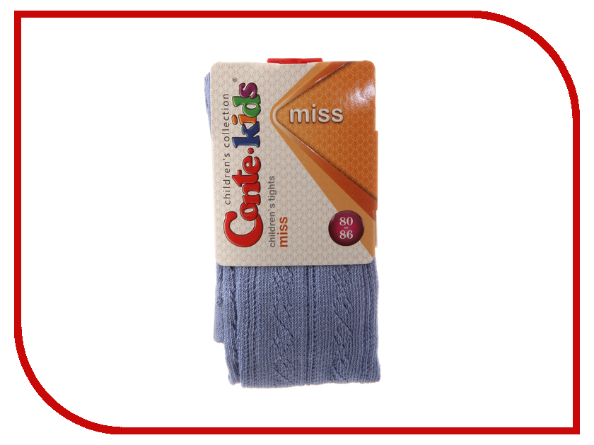 Колготки Conte Kids Miss 7С-80СП 80-86 Blue 266