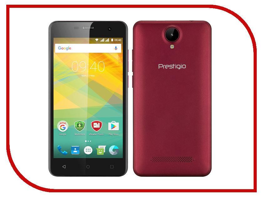 Сотовый телефон Prestigio Muze G3 LTE Marsala PSP3511DUO WINE MARSALA prestigio muze b7