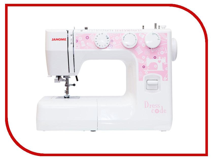 Швейная машинка Janome DressCode janome dresscode швейная машина