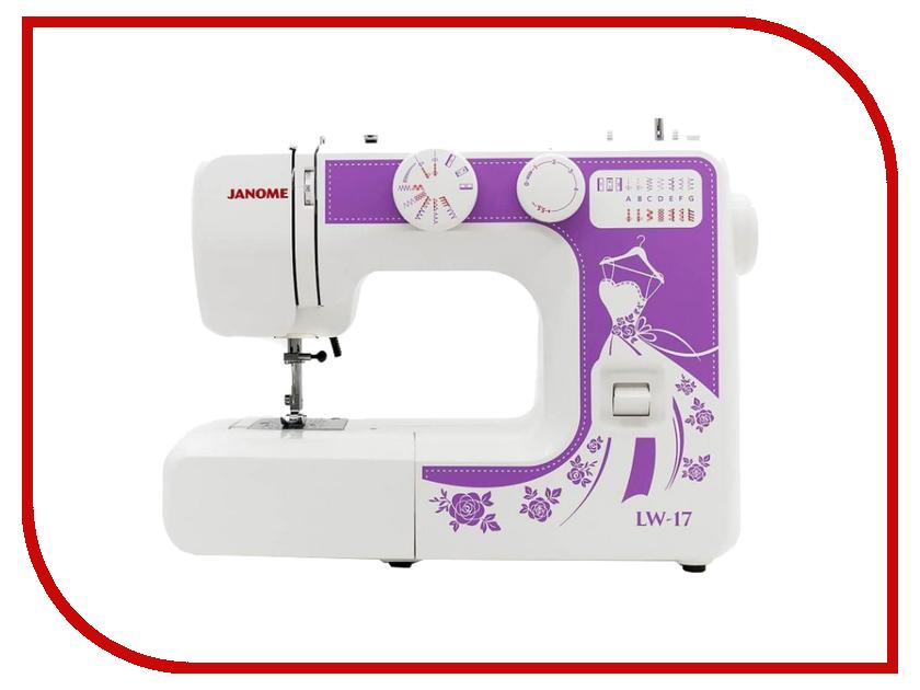 Швейная машинка Janome LW-17 White швейная машинка janome sew mini deluxe