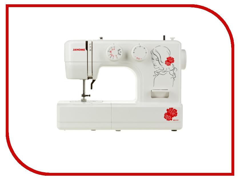 Швейная машинка Janome My Style 101 швейная машинка janome sew mini deluxe