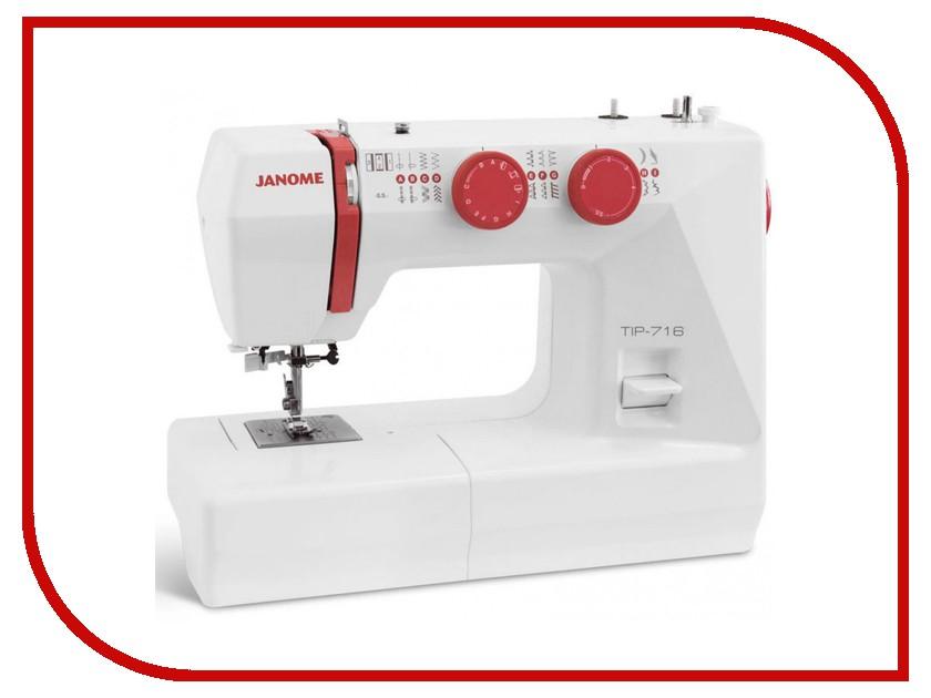 Швейная машинка Janome Tip 716 tip 411