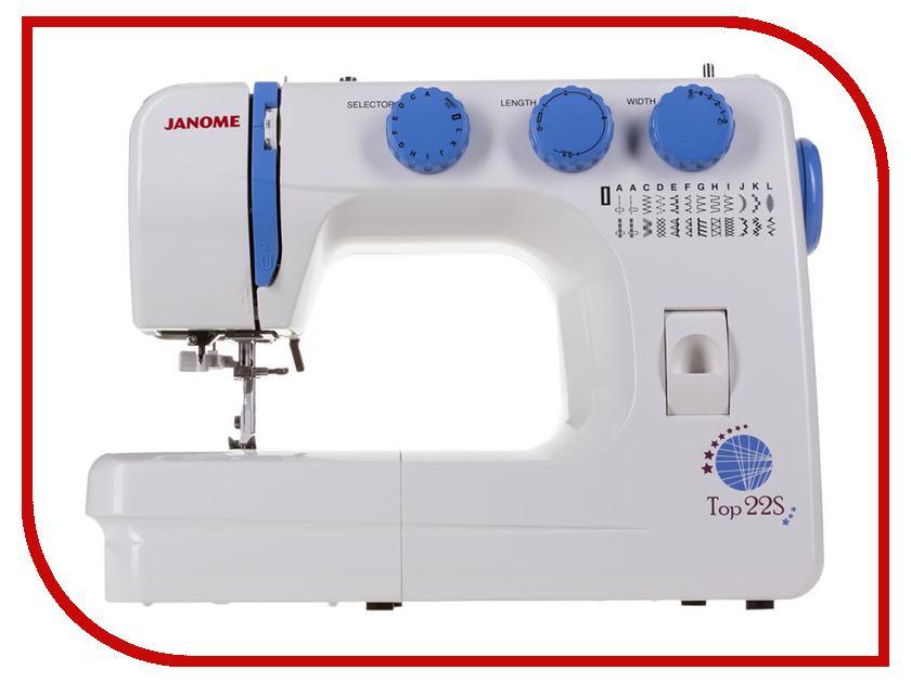 Швейная машинка Janome TOP 22S швейная машинка janome sew mini deluxe
