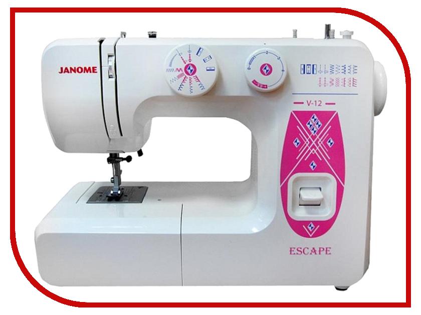 Швейная машинка Janome Escape V-12 швейная машинка janome sew mini deluxe