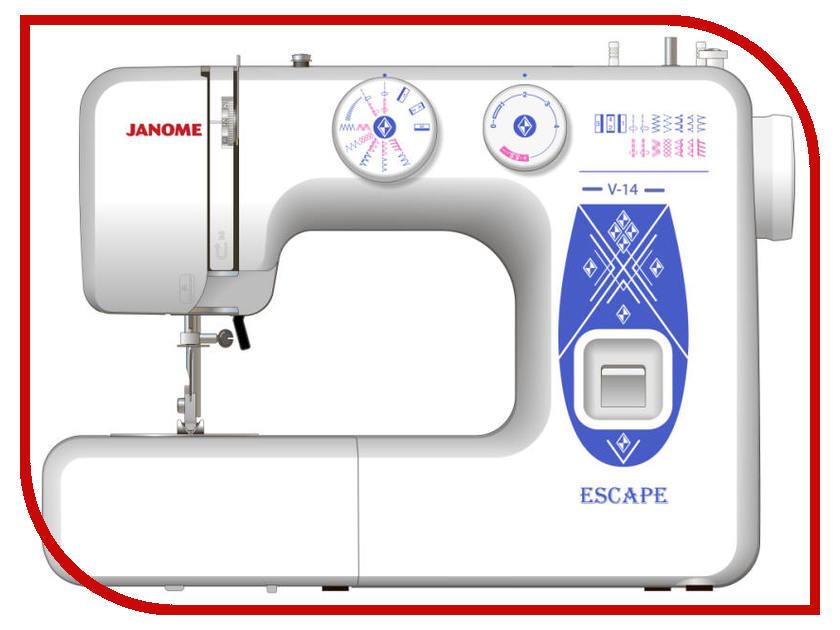 Швейная машинка Janome Escape V-14 швейная машинка janome sew mini deluxe