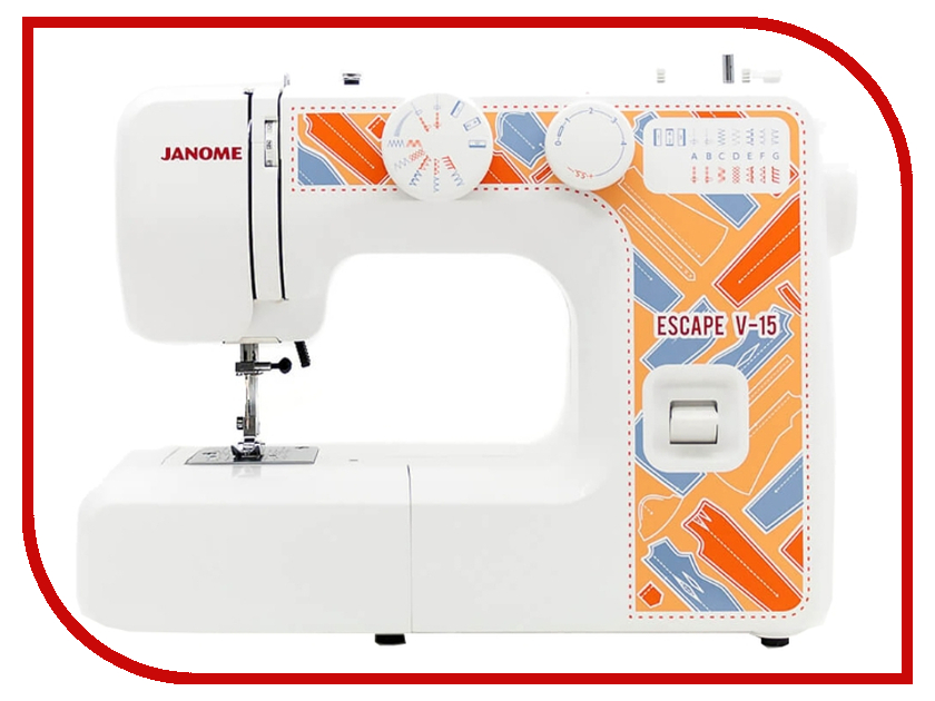 Швейная машинка Janome Escape V-15 швейная машинка janome sew mini deluxe
