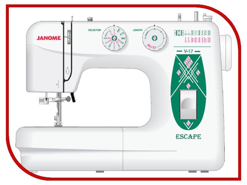 Швейная машинка Janome Escape V-17 швейная машинка janome sew mini deluxe