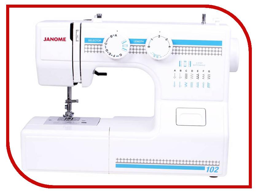 Швейная машинка Janome 102 janome ms 102 отзывы