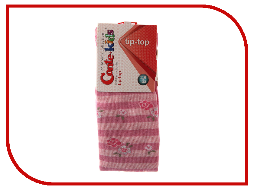 Колготки Conte Kids Tip-Top 7С-78СП 116-122 Mallow 409 колготки conte kids tip top 7с 78сп 92 98 light grey fuchsia 408