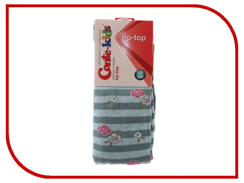 Колготки Conte Kids Tip-Top 7С-78СП 116-122 Grey Turquoise 409 колготки conte kids tip top 7с 78сп 92 98 light grey fuchsia 408
