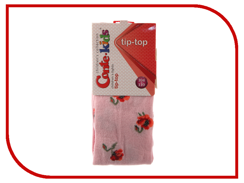 Колготки Conte Kids Tip-Top 7С-78СП 104-110 Light Pink 410 колготки conte kids tip top 7с 78сп 92 98 light grey fuchsia 408
