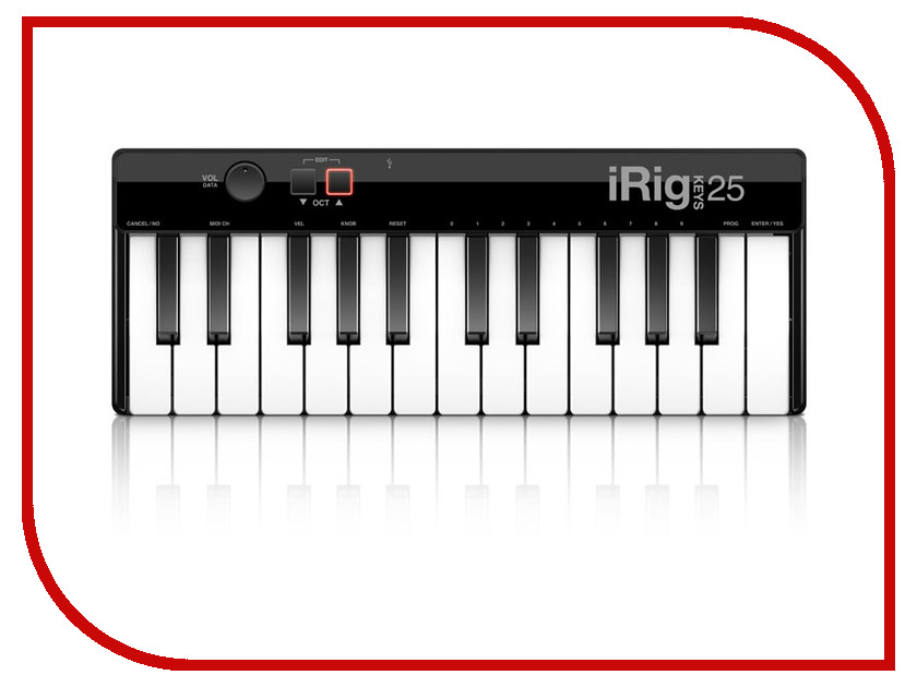 MIDI-клавиатура IK Multimedia iRig Keys 25 USB the black keys the black keys el camino 2 lp