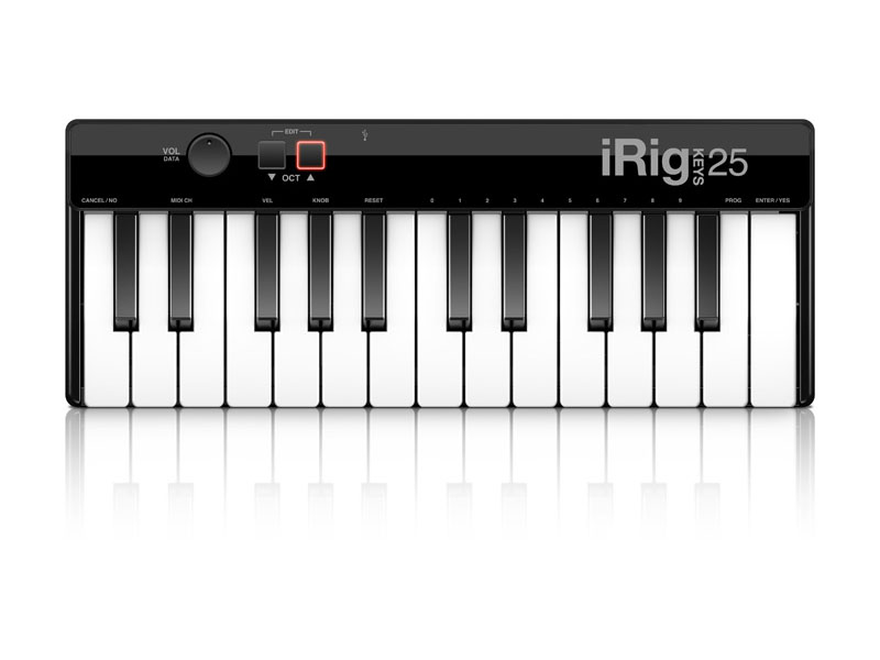 MIDI-клавиатура IK Multimedia iRig Keys 25 USB