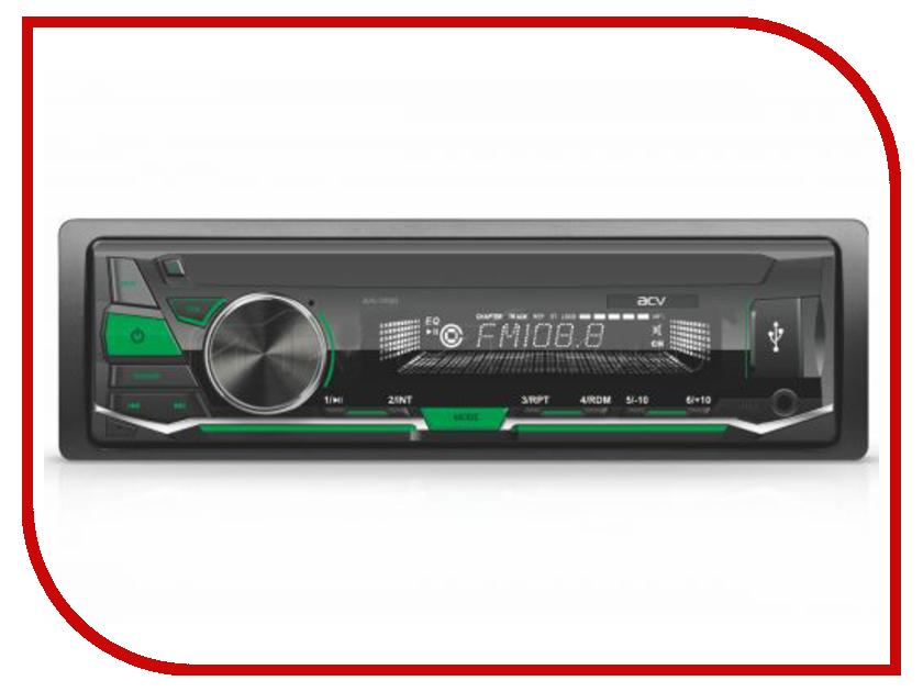 где купить Автомагнитола ACV AVS-1711GD Green дешево