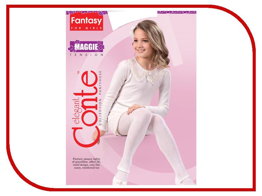 Колготки Conte Maggie 104-110 Bianco колготки conte lucia 104 110 natural