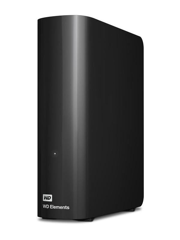 Жесткий диск Western Digital Elements USB 3.0 4Tb WDBWLG0040HBK-EESN Выгодный набор + серт. 200Р!!!