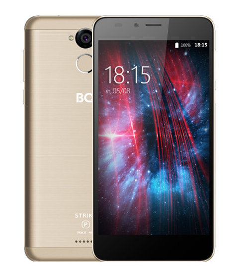 Сотовый телефон BQ 5510 Strike Power Max 4G Golden Grinded