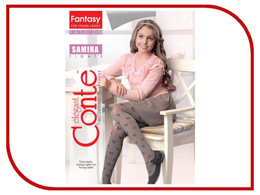 цены Колготки Conte Samira 152-158 Grey