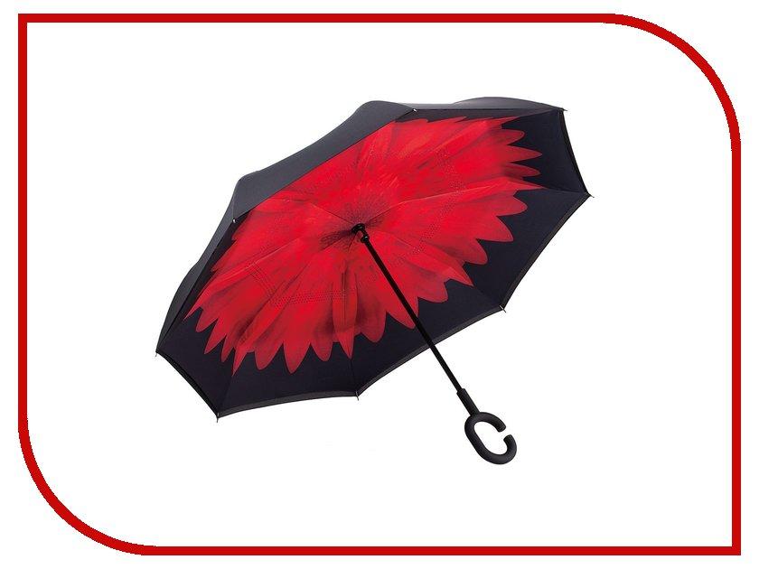 Зонт Зонт Наоборот Flower Red зонт наоборот полуавтомат mgitik