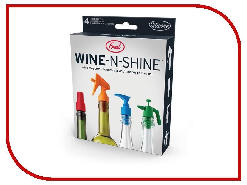 Пробка для бутылки Fred & Friends Wine-N-Shine 248