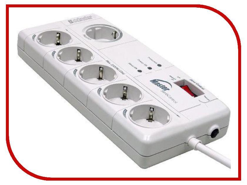 Сетевой фильтр Defender DFS 801 6 Sockets 2m 99413<br>