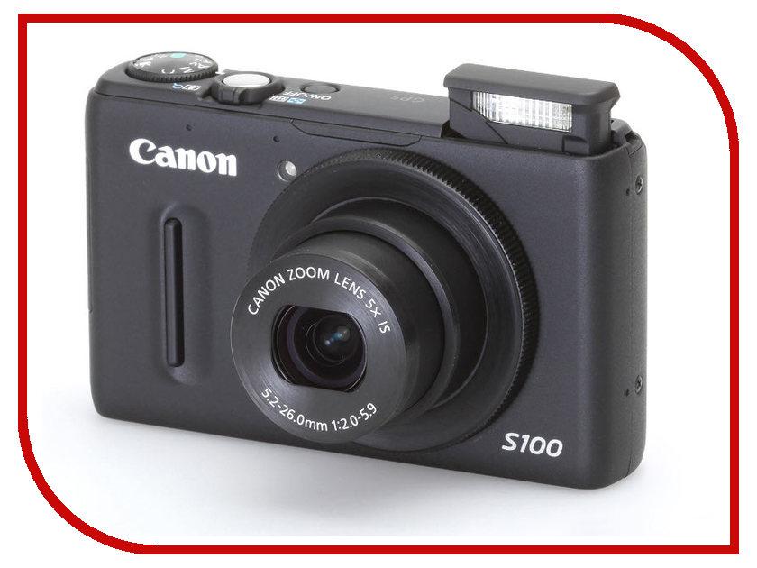 Фотоаппарат Canon PowerShot S100 Black<br>