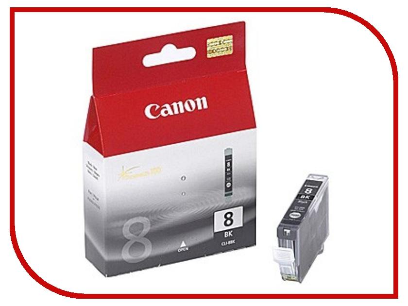 Картридж Canon CLI-8BK Black 0620B024 картридж для принтера colouring cg cli 426c cyan