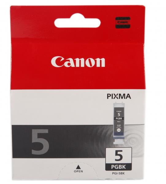 Картридж Canon PGI-5BK Black для PIXMA MP800/MP500/iP5200/iP5200R/iP4200R/IX4000/IX500 0628B024 картридж canon pgi 5bk twin pack для pixma mp800 mp500 ip5200 ip5200r ip4200 черный двойная упаковка