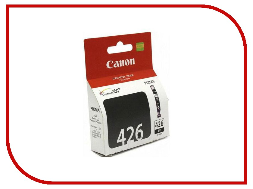 Картридж Canon CLI-426BK Black для iP4840/MG5140/MG5240/MG6140/MG8140 4556B001 t2 ic cpgi 425bk картридж для canon pixma ip4840 mg5140 mg6140 mg8140 mx884 black
