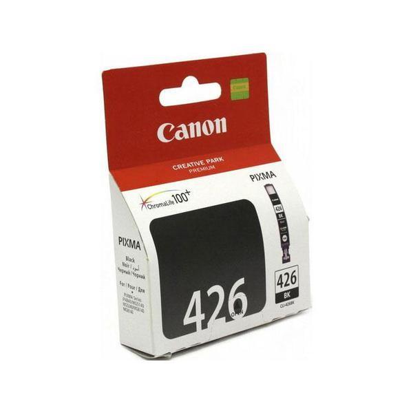 Картридж Canon CLI-426BK Black для iP4840/MG5140/MG5240/MG6140/MG8140 4556B001 картридж canon cli 426bk черный [4556b001]