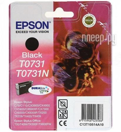 Аксессуар Epson T0731 EPT10514A10 / C13T10514A10 / T07314A Black для C79/CX3900/CX4900/CX5900