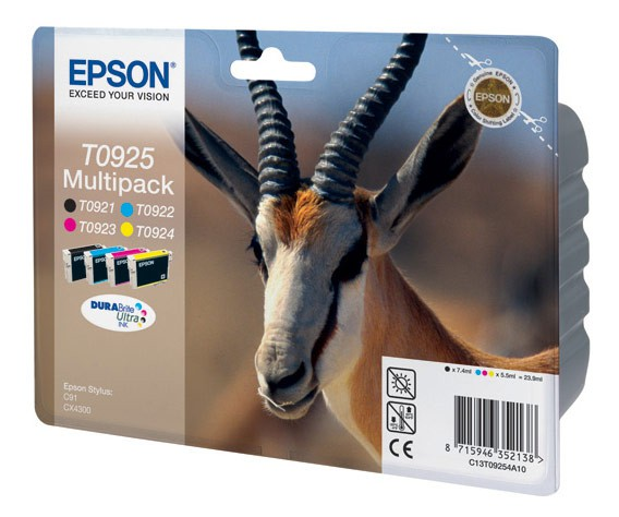 Картридж Epson T0925 C13T10854A10 /T09254A T10854A10 Multipack