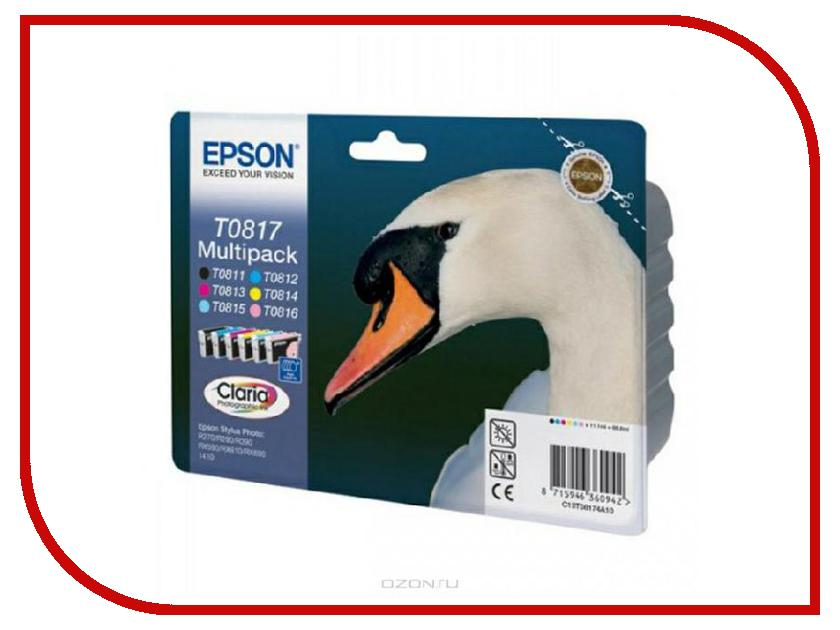Картридж Epson T0817 C13T11174A10 C13T11174A Multipack<br>