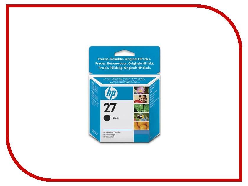 Картридж HP 27 C8727AE Black hewlett packard hp лазерный мфу печать копирование сканирование