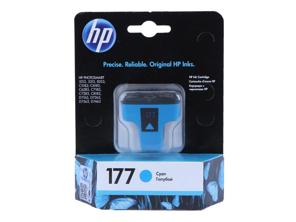 Картридж HP 177 C8771HE Cyan