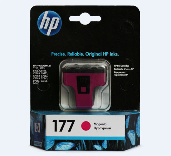 Картридж HP 177 C8772HE Magenta
