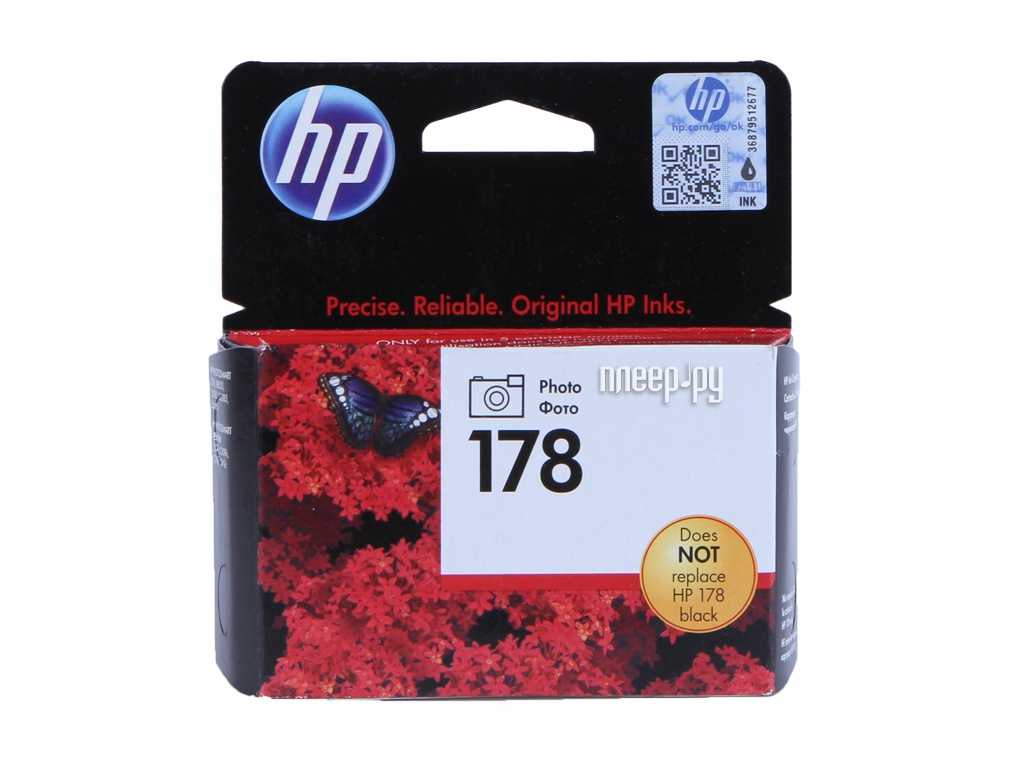 Картридж HP CB317HE Photo Black от HP (Hewlett Packard)