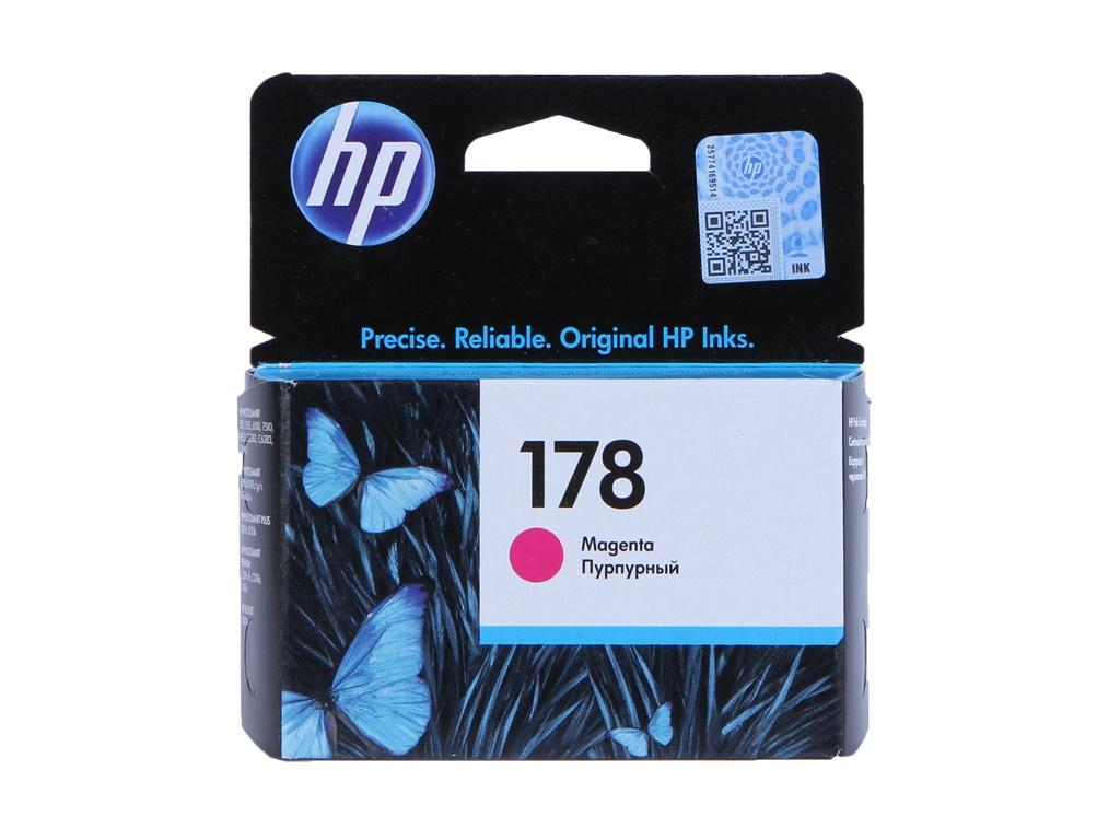 Картридж HP 178 CB319HE Magenta для B109/C5383/C6383/D5463/Plus B209/Premium Fax C309/B109/B8553 цена 2017