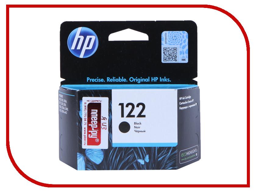 Картридж HP 122 CH561HE Black для 1050 / 2050 / 2050s картридж hp 122 ch561he black для 1050 2050 2050s