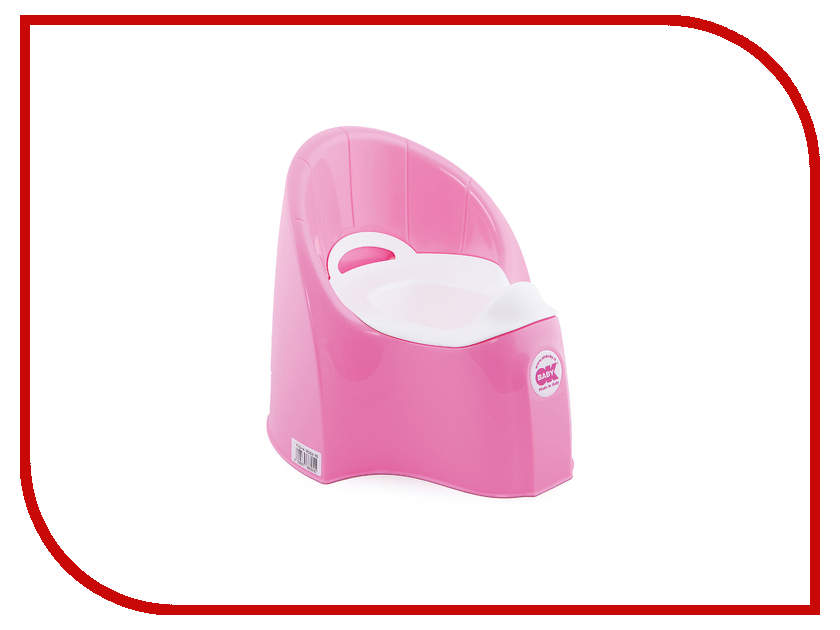 Горшок Ok Baby Pasha GL000077209 Pink детские товары по уходу за ребенком gl baby baby