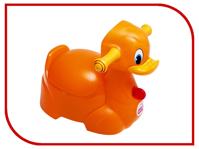 Горшок Ok Baby Quack GL000077117 Orange детские товары по уходу за ребенком gl baby baby