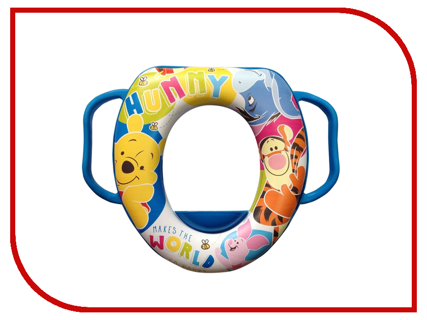 Накладка мягкая на унитаз OKT Disney Винни Пух GL000320829 Blue