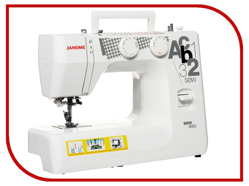 Швейная машинка Janome Sew Easy швейная машина janome sew dream 510