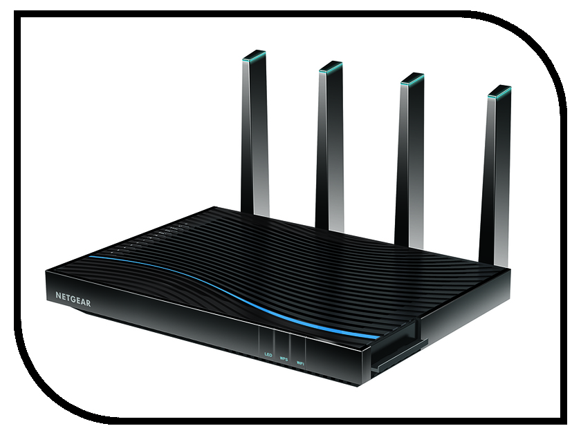 Wi-Fi роутер Netgear D8500 роутер беспроводной netgear orbi srk60 100eus wi fi белый