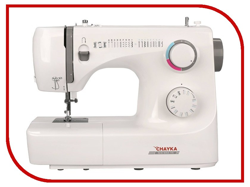 Швейная машинка Chayka New Wave 735 купить коверлок juki mo 735