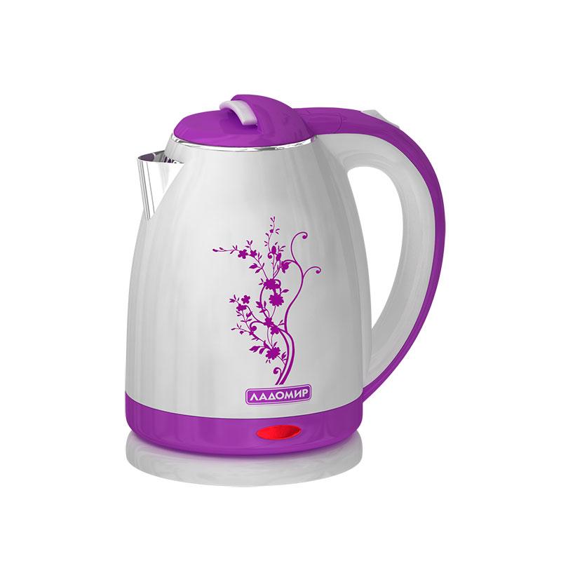 цена на Чайник Ладомир 121 White-Violet
