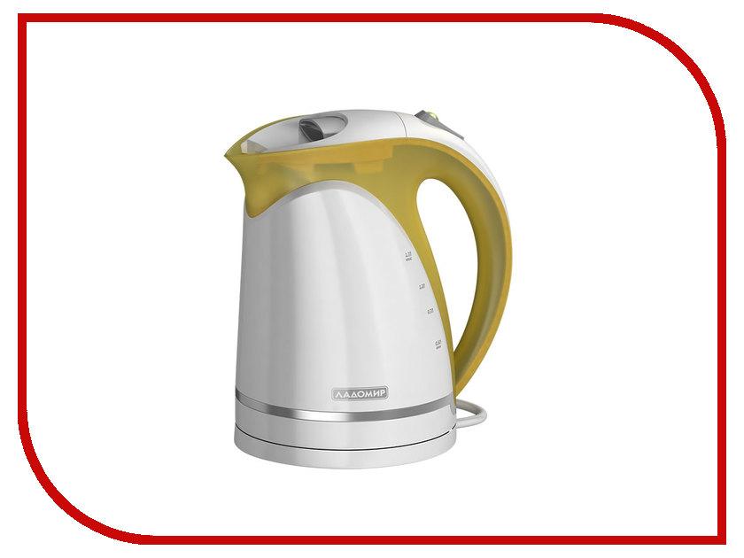 Чайник Ладомир 324 White-Brown утюг ладомир 73