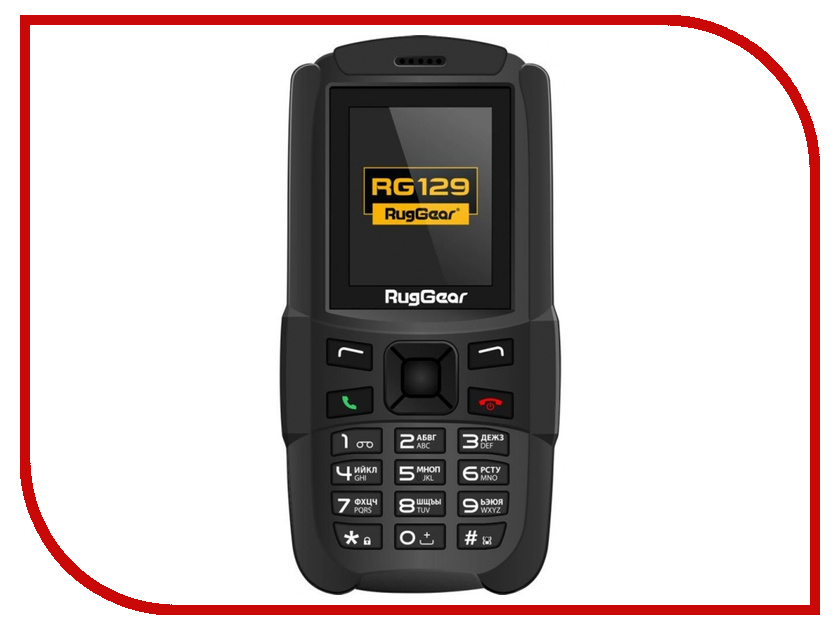 Сотовый телефон RugGear RG129 Black alexa alexa hg 6022 e