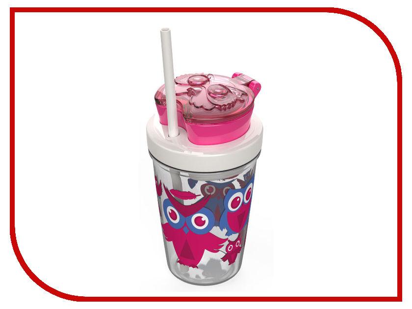 Детский стакан Contigo Snack Tumbler 350ml Pink contigo0626 смешарики стакан детский 280 мл